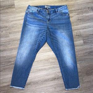 Wit & Wisdom 16W Skinny Crop Jean